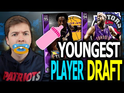 THE YOUNGEST PLAYERS DRAFT! NBA 2K16 DRAFT AND PLAY!