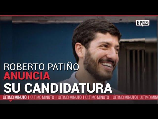 Roberto Patiño anuncia su candidatura para la Alcaldía del municipio Libertador