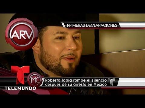 Roberto Tapia rompe el silencio sobre su arresto | Al Rojo Vivo | Telemundo