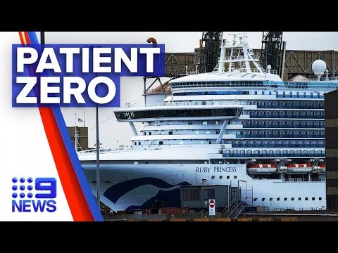 Coronavirus: Ruby Princess patient zero   Nine News Australia