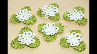 Вы не поверите - КАК ПРОСТО ВЯЗАТЬ ЭТИ ЦВЕТЫ!   How to crochet a flower