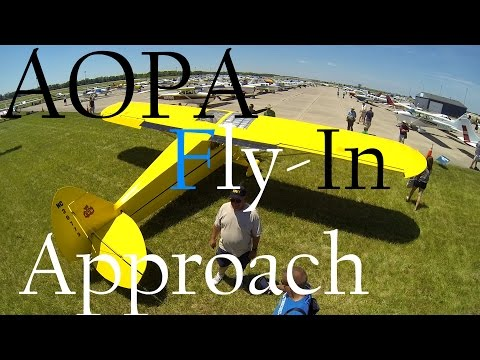 AOPA Fly-In l Congested Airspace l Live ATC