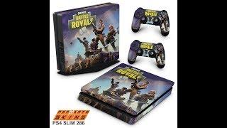 PS4 SLIM SKIN - Fortnite Battle Royale