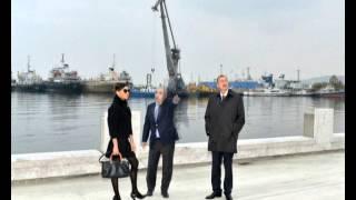 Президентская чета ознакомилась с ходом строительных работ на бульваре Баку Белый город(, 2013-11-19T15:45:57.000Z)