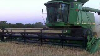 Wheat Harvest On A Real Family Farm in Kansas!