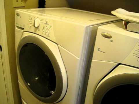 whirlpool duet washer vibration youtube. Black Bedroom Furniture Sets. Home Design Ideas