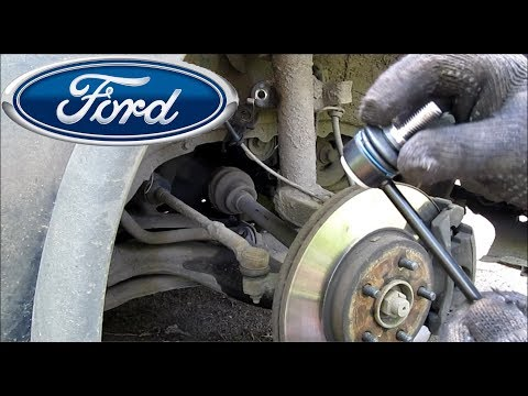 Замена передней стойки стабилизатора Ford Mondeo 3