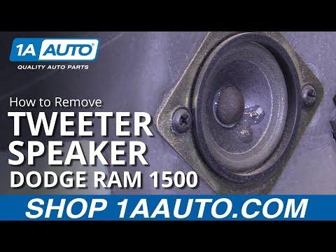How to Replace Tweeter Speaker 94-02 Dodge Ram 1500