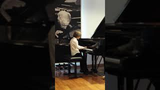 Классическая музыка Ф. Шопен, Этюд f-moll op.25 Nr.2.   Исполняет Александр Тиссен 9 лет.