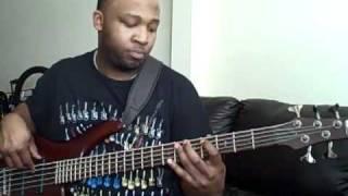 "Kirk Franklin Album Hello Fear ""A God Like You"" bass line"