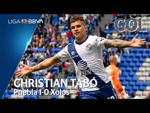 Gol de C. Tabó   Puebla 1 - 0 Tijuana   LIGA BBVA MX - Apertura 2019  - Jornada 1