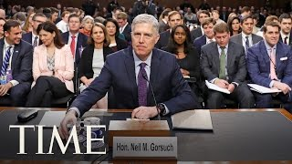 Watch LIVE: Day 3 Of Senate Confirmation Hearing For Judge Neil Gorsuch | TIME