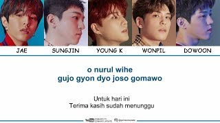 DAY6 - TIME OF OUR LIFE (Easy Lyrics + Indo Sub) by GOMAWO