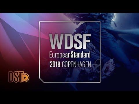 ITV w. Sodeika - Zukauskaite, LTU   2018 European STD   DanceSport Total