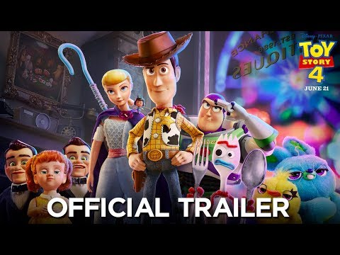 Angie Ward - Finally! New Toy Story 4 In Theaters This Weekend!