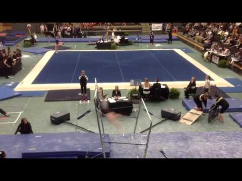 Ashley White - Uneven Bar Routine- Centenary College of Louisiana - USAG Collegiate National Compet