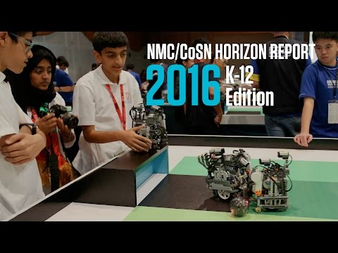 NMC/CoSN Horizon Report: 2016 K-12 Edition
