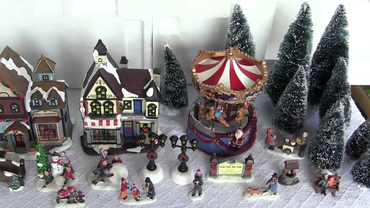 christmas village unboxing