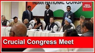 Crucial Congress Meet In Delhi After 'No Confidence Motion' Defeat