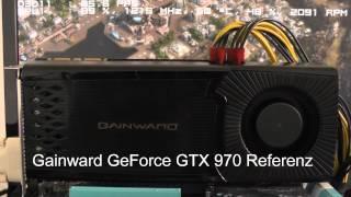10 GeForce GTX 970 im Lautstärke-Vergleich