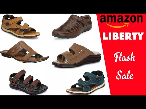 AMAZON LIBERTY FLASH SALE ON FOOTWEAR FOR MENS & GENTS | SANDALS SHOES SLIPPERS DESIGN 2020