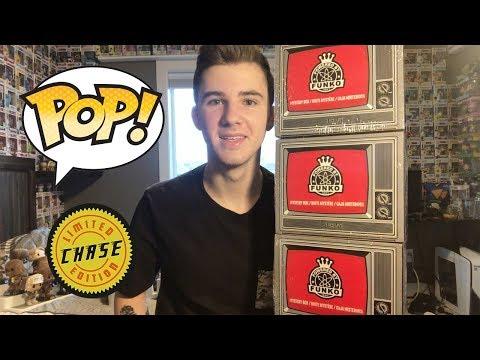 Three $20 Funko Pop Mystery Boxes! (Black Friday)