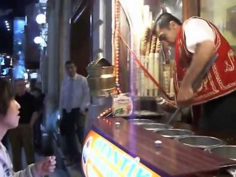 bán buôn Kem Ý kiểu bá đạo ở Thổ Nhĩ Kỳ