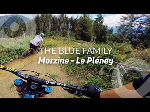 THE BLUE FAMILY, Morzine (Le Pléney), France