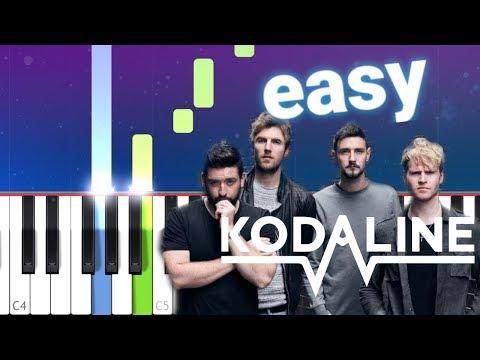 Kodaline - All I Want (100% EASY PIANO TUTORIAL)