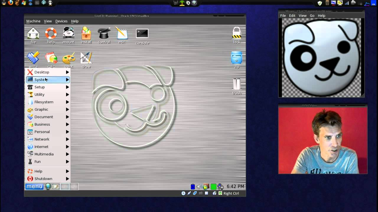 Puppy Linux Lightweight OS for Netbooks and Old Computers
