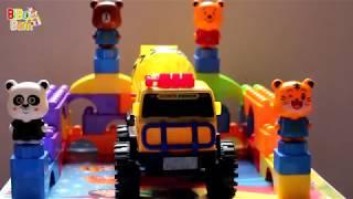 Assembling concrete mixing vehicles - Lắp Ráp xe ô tô đồ chơi