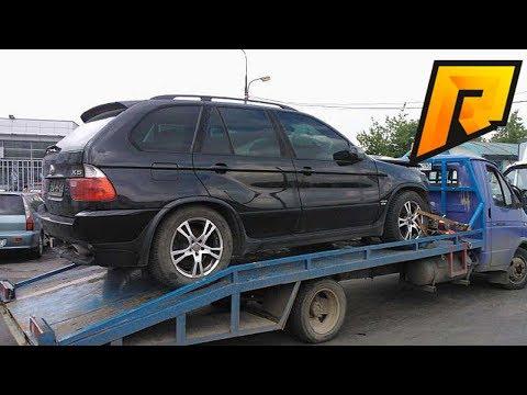 Эвакуировали BMW X5 Бандитов - CRMP - RADMIR - RP