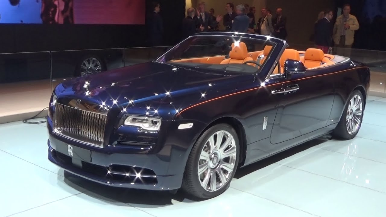 2016 Rolls Royce Dawn Iaa Frankfurt 2015 Youtube