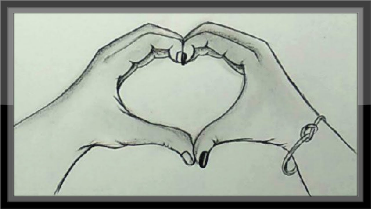 Pencil drawing valentine drawing idea easy