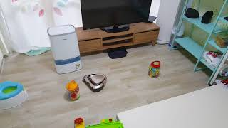 로봇청소기 일렉트로룩스 퓨어 i9 장애물 통과 청소테스…