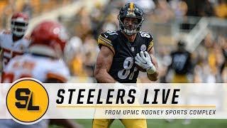 Game Recap, Chalk Talk on Steelers Live | Pittsburgh Steelers