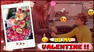 SURPRISE MEET TO KHUSHI ON VALENTINE'S DAY❤️ (PART-1) | KUNAL TOMAR