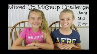 Mixed Up Makeup Challenge ~ Jacy and Kacy