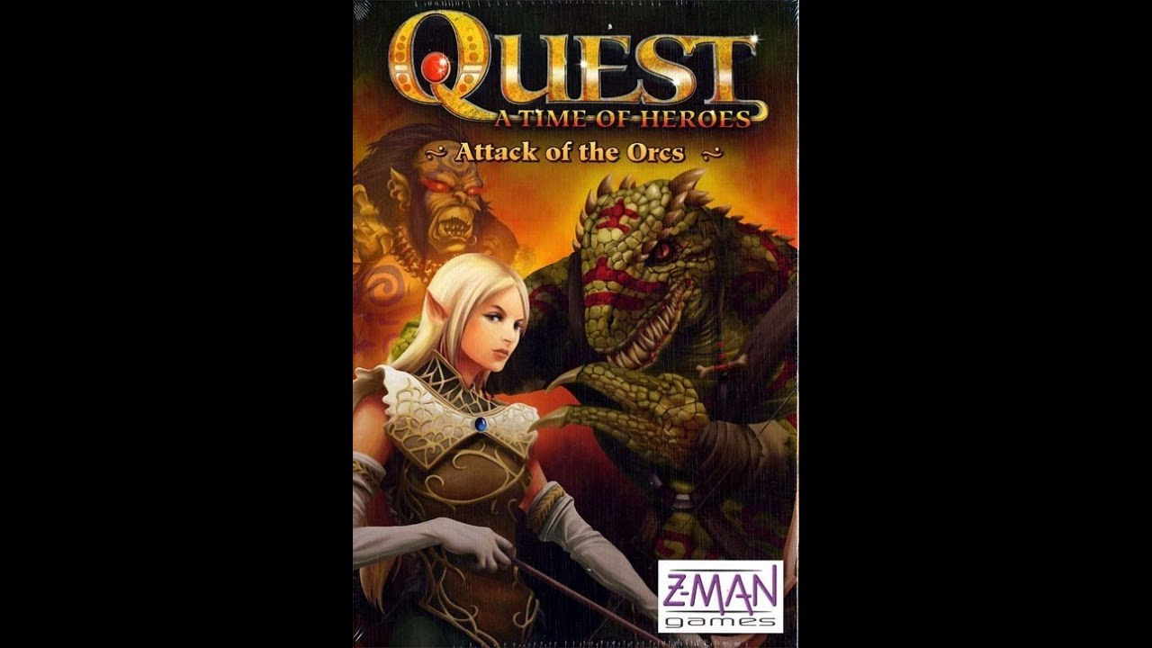 BGM:  Board Game Spotlight - Quest:  A Time for Heroes
