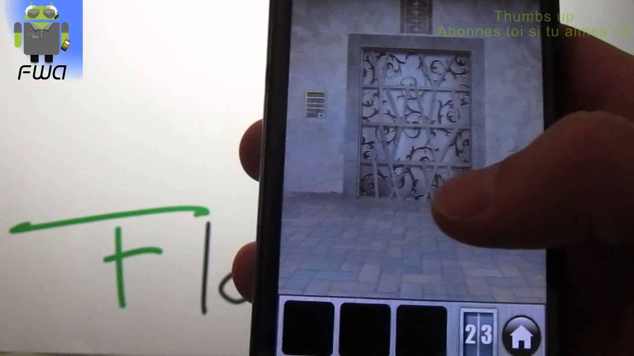 100 doors of revenge niveau 23 fr solution for 100 doors door 23