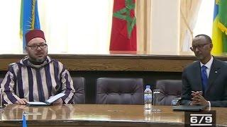 الملك محمد السادس والرئيس الرواندي يترأسان حفل التوقيع على 19 اتفاقية ثنائية