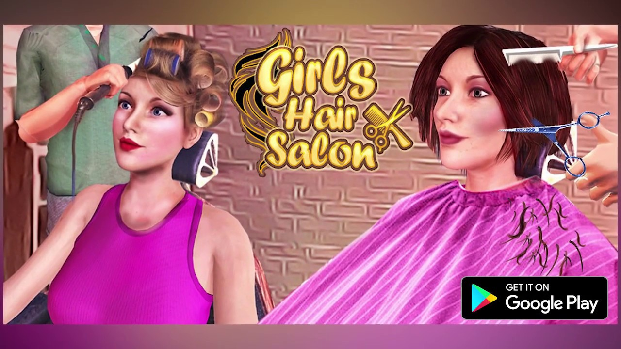 Girls Haircut Hair Salon Trailer Out Now Hairstyle Games 3d Youtube