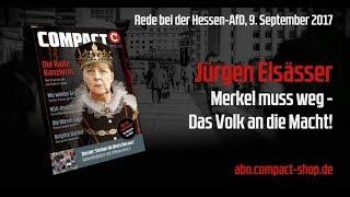 Jürgen Elsässer: Merkel muss weg - Das Volk an die Macht!