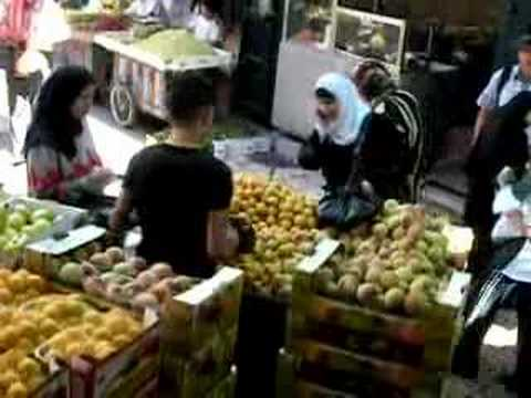 Damascus Gate Food Market