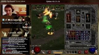 Diablo 2 - 8 Man Nightmare Speedrun (BO Barb Perspective!)