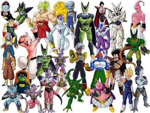 Top 10 des plus puissant m chant de dragon ball z youtube - Tout les image de dragon ball z ...