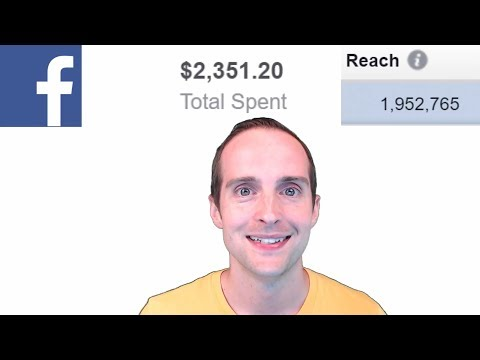 Facebook Ads Case Study with 1,952,765 Reach on a $2351 Budget!