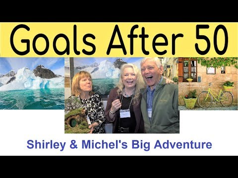 Following Dreams over 50, men & women, mature awesome travel & vacations