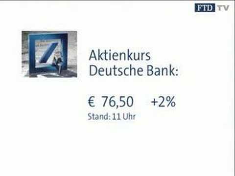 FTD-Thema vom 07.02.: Deutsche Bank ist Subprime-resistent