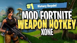 Fortnite MODDED Controller - WEAPON HOTKEYS!! (How it works)